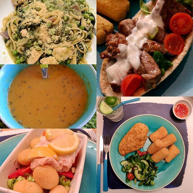 Healthy easy recipes for dinner uk map