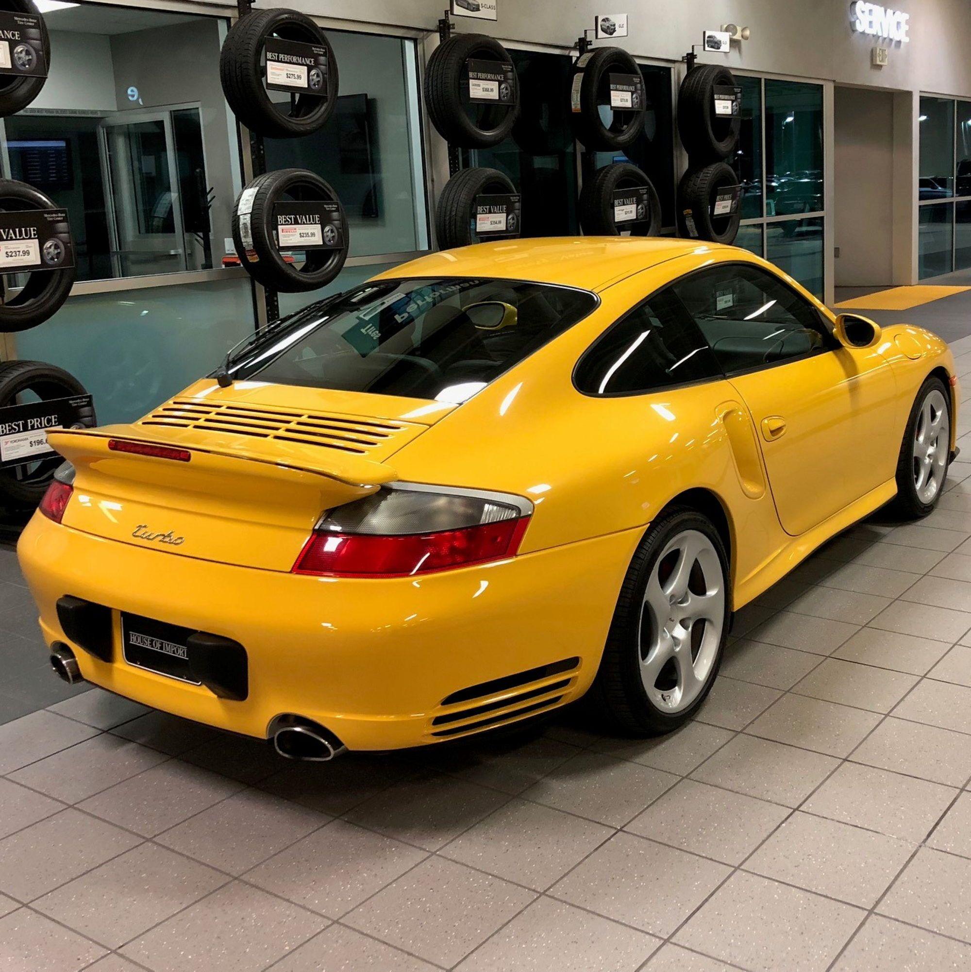 Porsche 996 Turbo >> 996 Turbo Speed Yellow Porsche Usa