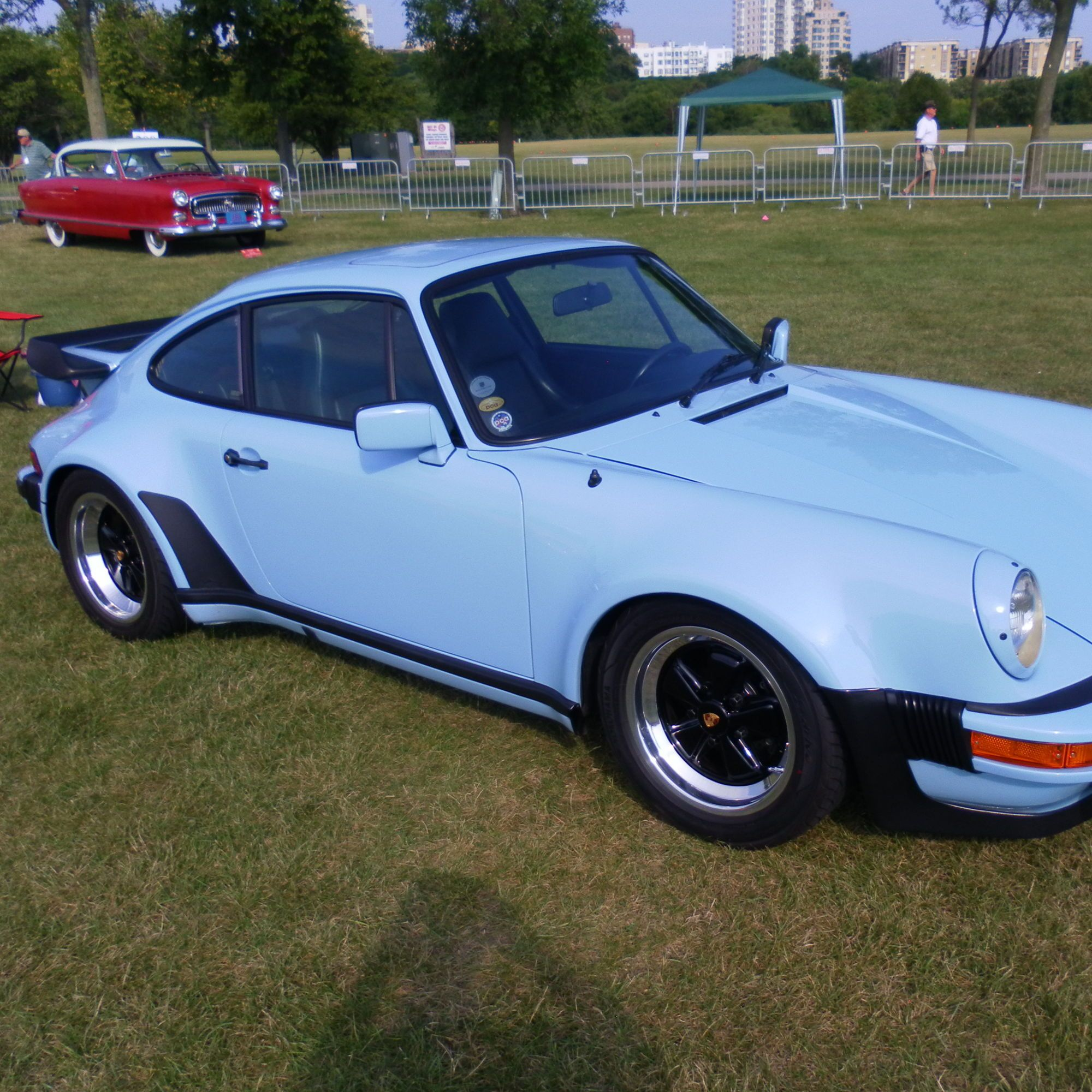 Gulf Blue 930 Turbo Porsche China